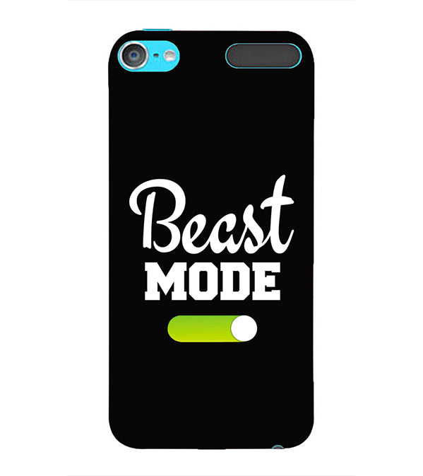 Beast Mode Back Cover for Apple iPod Touch 6