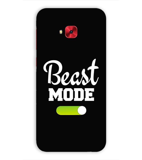 Beast Mode Back Cover for Asus Zenfone 4 Selfie Pro ZD552KL