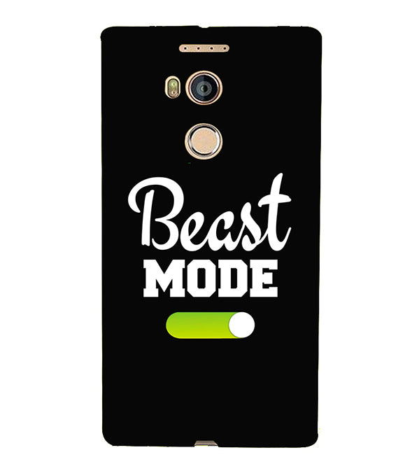 Beast Mode Back Cover for Gionee Elife E8