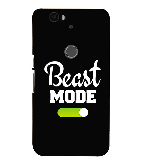 Beast Mode Back Cover for Google Nexus 6P