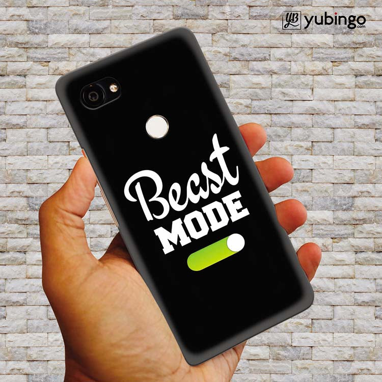 Beast Mode Back Cover for Google Pixel 2 XL (6 Inch Screen)