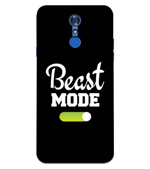Beast Mode Back Cover for LG Q7