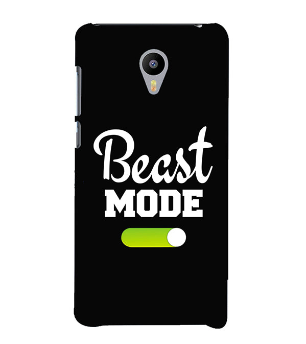 Beast Mode Back Cover for Meizu M3 Note