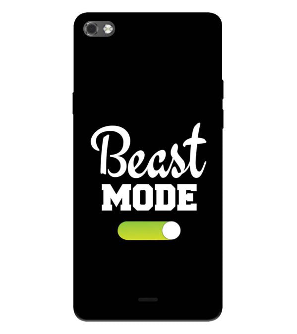 Beast Mode Back Cover for Micromax Canvas Sliver 5 Q450