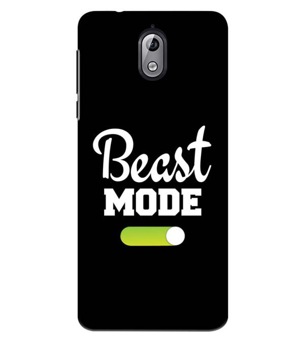 Beast Mode Back Cover for Nokia 3.1 (2018)