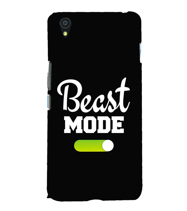Beast Mode Back Cover for OnePlus X