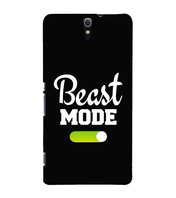 Beast Mode Back Cover for Sony Xperia C5