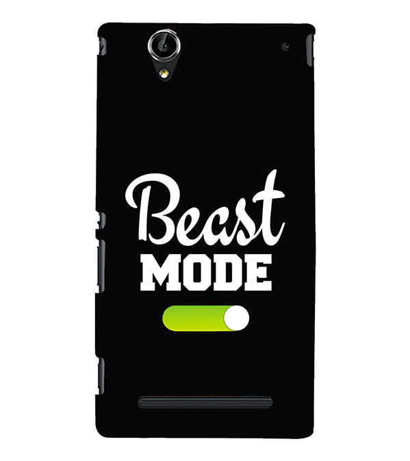 Beast Mode Back Cover for Sony Xperia T2