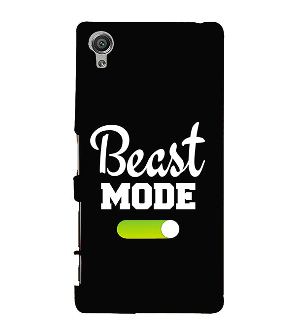 Beast Mode Back Cover for Sony Xperia X
