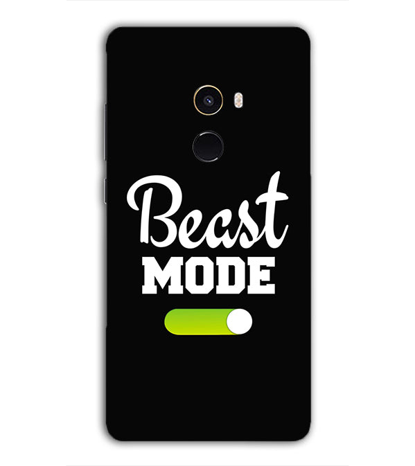 Beast Mode Back Cover for Xiaomi Mix 2