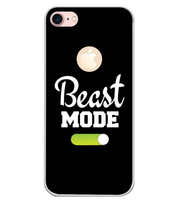 Beast Mode Back Cover for Apple iPhone 7 (Logo)-Image3