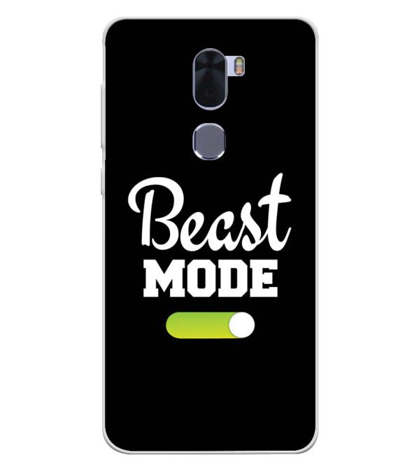 Beast Mode Soft Silicone Back Cover for Coolpad Cool 1