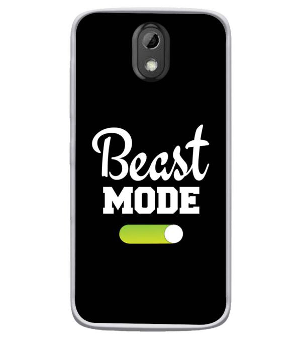 Beast Mode Soft Silicone Back Cover for HTC Desire 526
