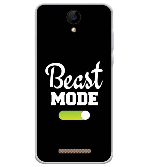 Beast Mode Soft Silicone Back Cover for iVOOMi 505