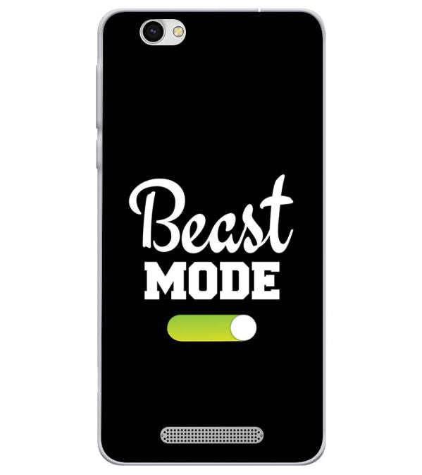 Beast Mode Soft Silicone Back Cover for Lava X28