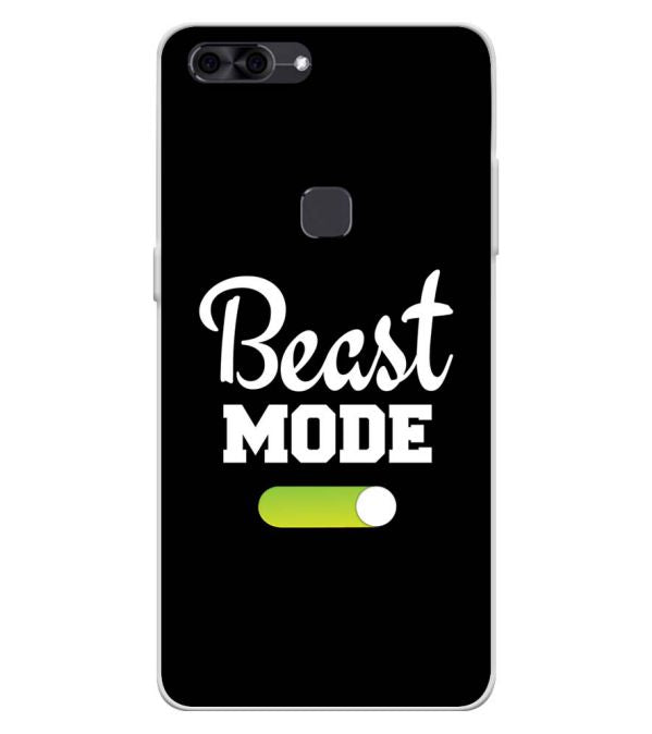 Beast Mode Soft Silicone Back Cover for Lava Z90