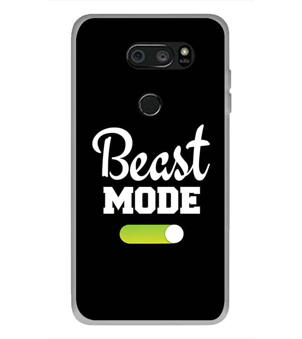 Beast Mode Back Cover for LG V30 Plus