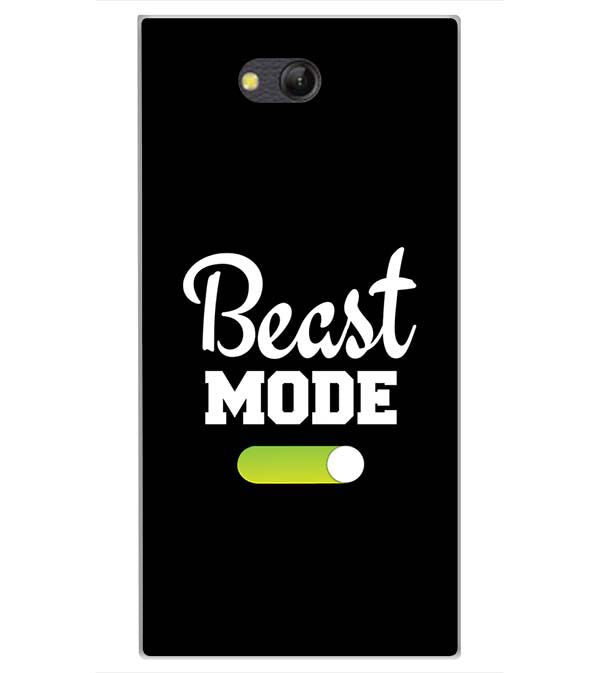 Beast Mode Back Cover for LYF Wind 4