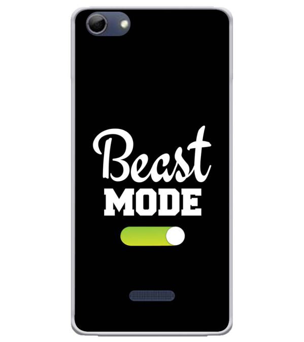 Beast Mode Soft Silicone Back Cover for Micromax Selfie 3 Q348