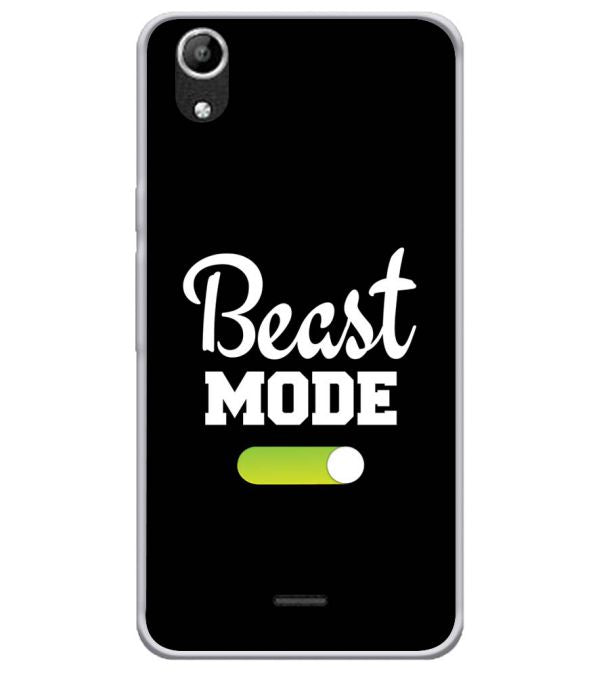 Beast Mode Soft Silicone Back Cover for Micromax Selfie Lens Q345