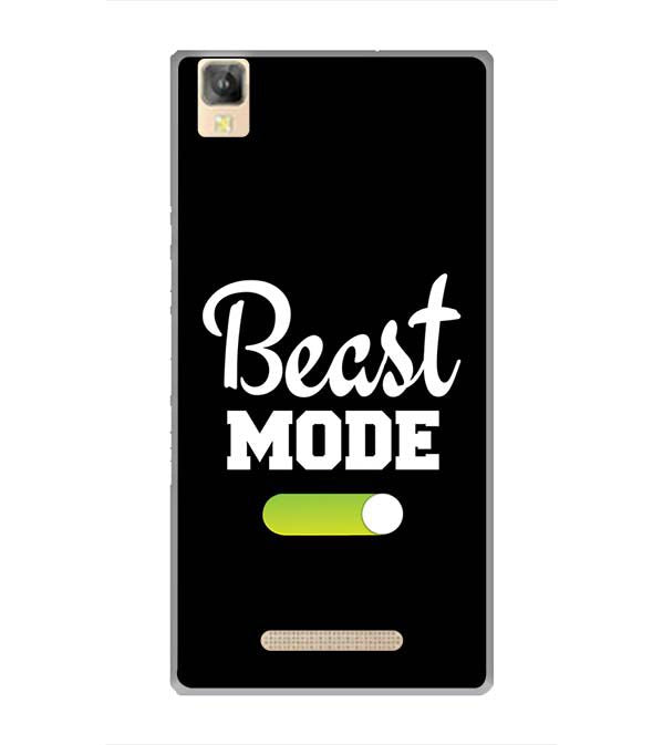 Beast Mode Back Cover for Panasonic Eluga A2