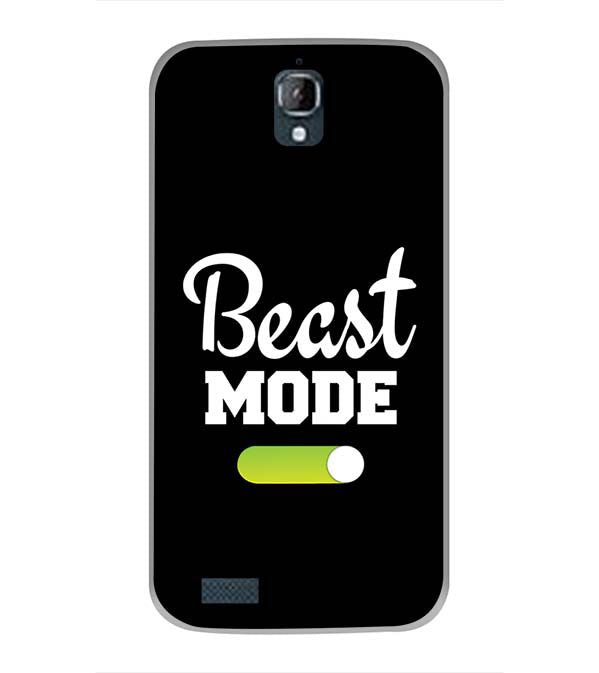 Beast Mode Back Cover for Panasonic Eluga Icon