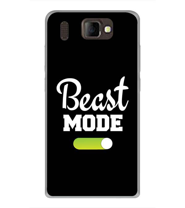 Beast Mode Back Cover for Panasonic P66 Mega