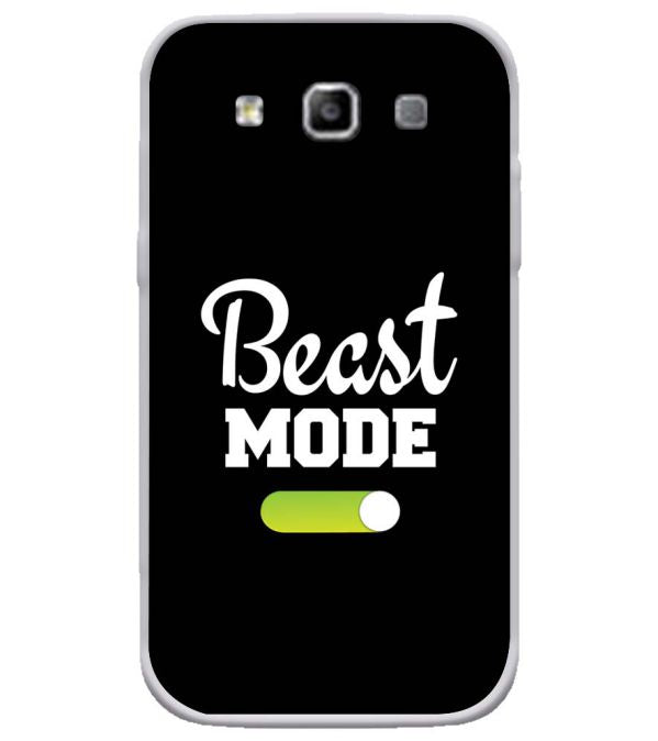 Beast Mode Soft Silicone Back Cover for Samsung Galaxy Grand Quattro 8552