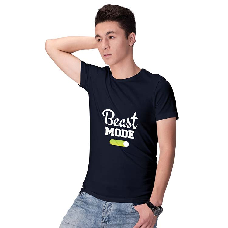 Beast Mode Men T-Shirt-Maroon