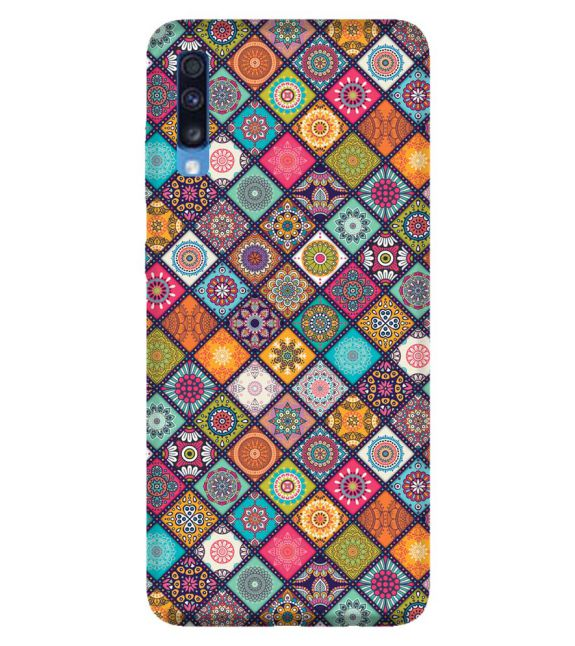 Beautiful Mandala Pattern Back Cover for Samsung Galaxy A70
