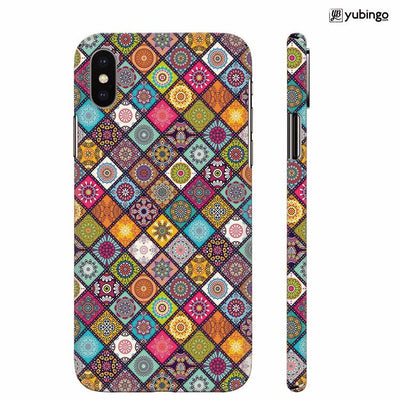 Beautiful Mandala Pattern Back Cover for Apple iPhone X