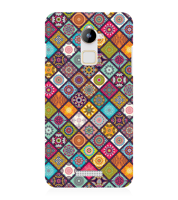 Beautiful Mandala Pattern Back Cover for Coolpad Note 3 Lite