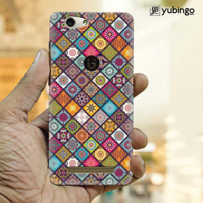 Beautiful Mandala Pattern Back Cover for Gionee F103 Pro-Image2