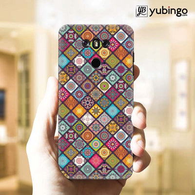 Beautiful Mandala Pattern Back Cover for LG G6-Image2