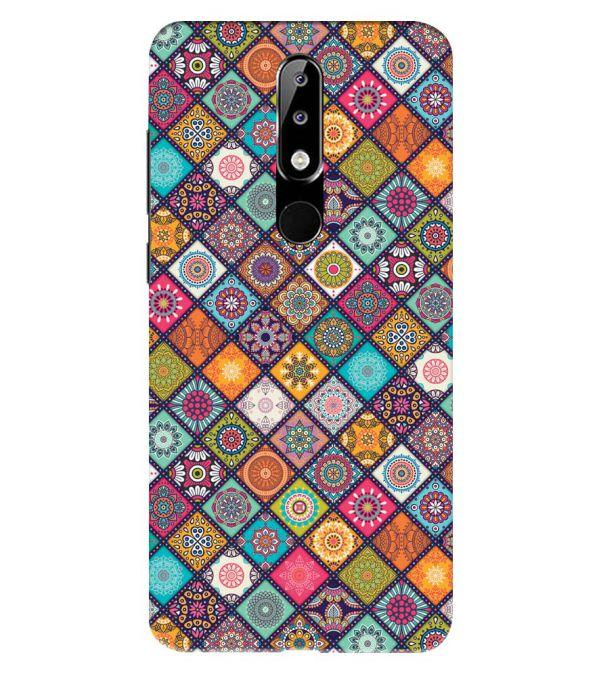 Beautiful Mandala Pattern Back Cover for Nokia 5.1 Plus (Nokia X5)