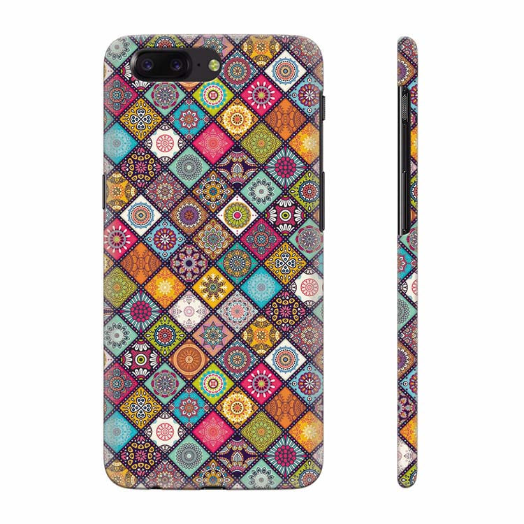 Beautiful Mandala Pattern Back Cover for OnePlus 5
