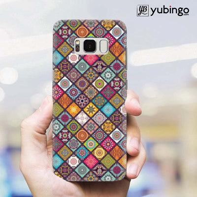 Beautiful Mandala Pattern Back Cover for Samsung Galaxy S8 Plus-Image2