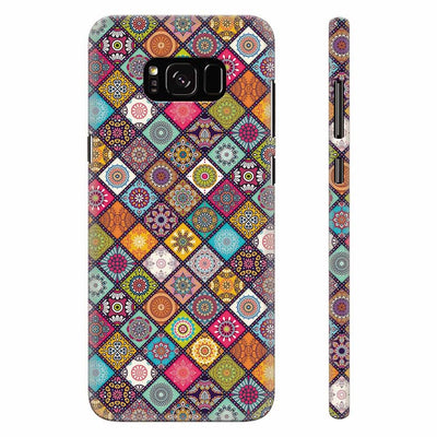 Beautiful Mandala Pattern Back Cover for Samsung Galaxy S8 Plus