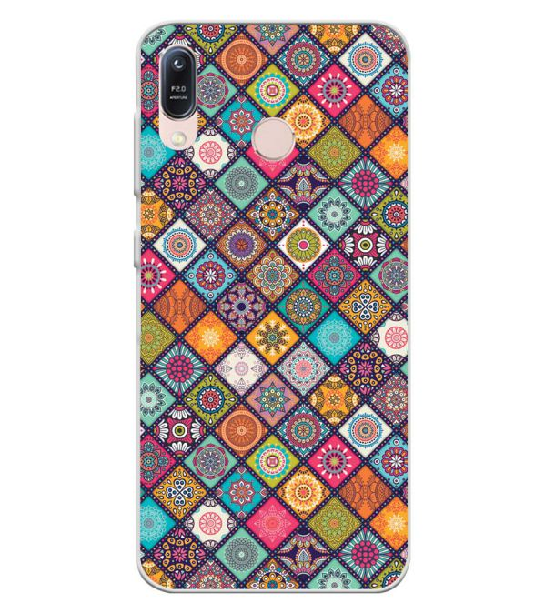 Beautiful Mandala Pattern Soft Silicone Back Cover for Asus Zenfone Max (M1) ZB556KL