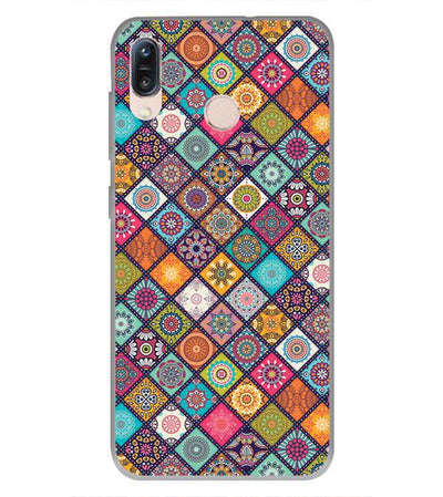 Beautiful Mandala Pattern Back Cover for Asus Zenfone Max Pro M1