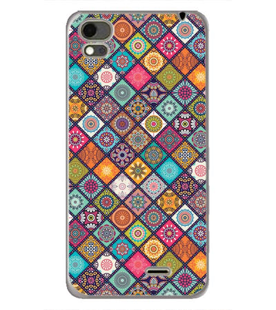 Beautiful Mandala Pattern Back Cover for Karbonn Aura Note 4G