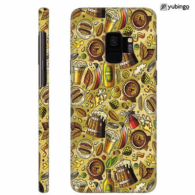 Beer Overflow Back Cover for Samsung Galaxy S9