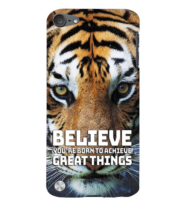 Believe Back Cover for Apple iPod Touch 5