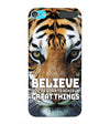 Believe Back Cover for Apple iPod Touch 6