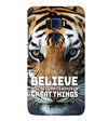 Believe Back Cover for Asus Zenfone 3 ZE552KL
