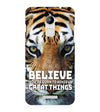 Believe Back Cover for Coolpad Note 3 Lite