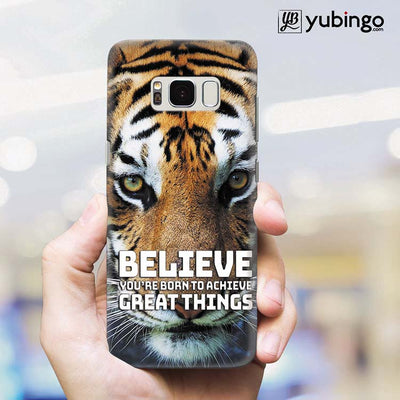 Believe Back Cover for Samsung Galaxy S8 Plus-Image2