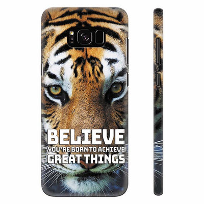 Believe Back Cover for Samsung Galaxy S8 Plus