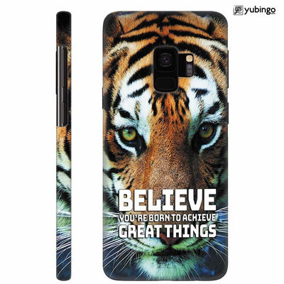 Believe Back Cover for Samsung Galaxy S9