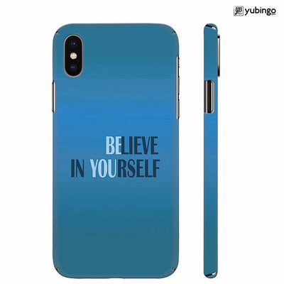Believe in Yourself Back Cover for Apple iPhone X